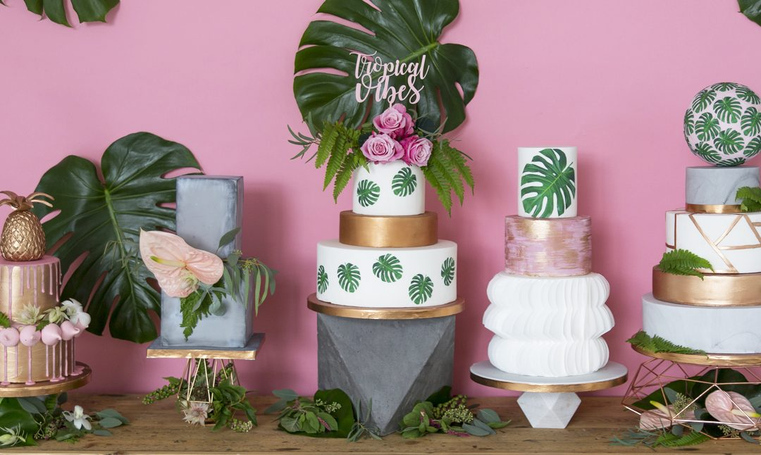 10 Modern Wedding Cake Trends for 2018
