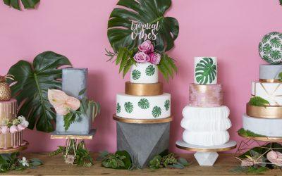 10 Modern Wedding Cake Trends for 2018