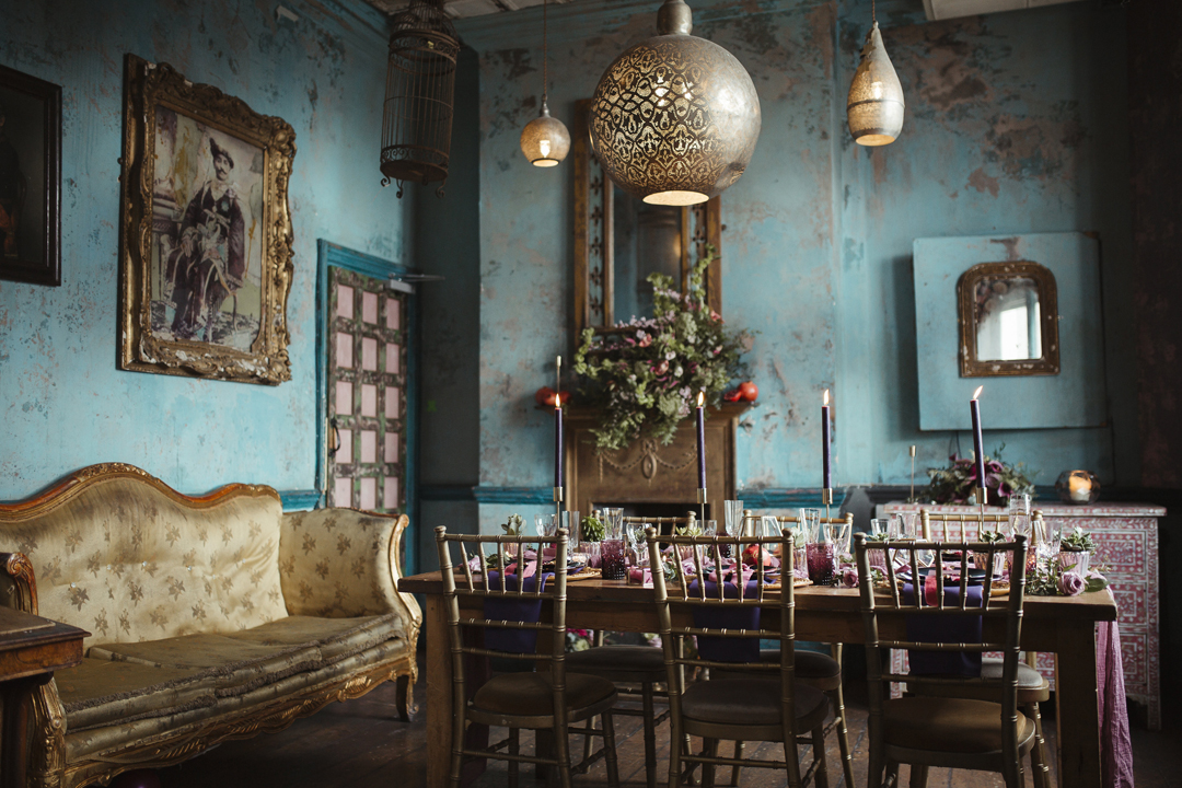 The blue room at the paradise by way of kensal green