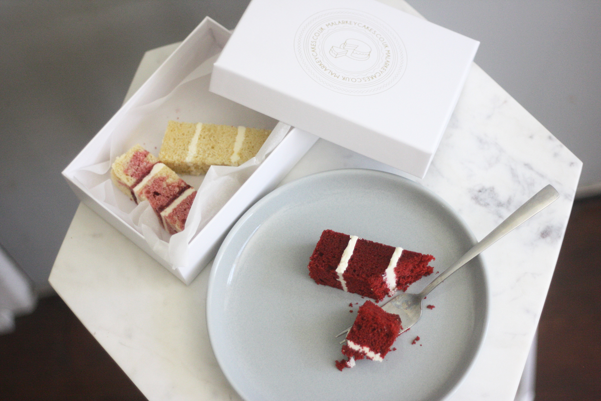 Tasting session- the stages of making a wedding cake