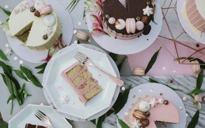 Modern Wedding Cake Flavours