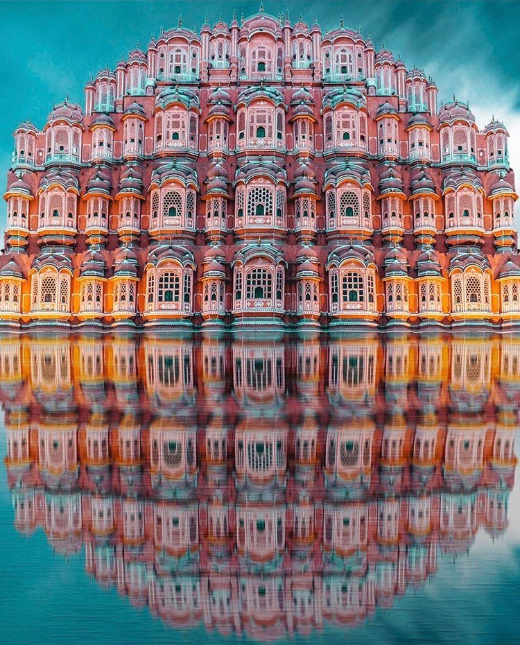 Cak Architecture inspiration The Hawa Mahal in Jaipur, India