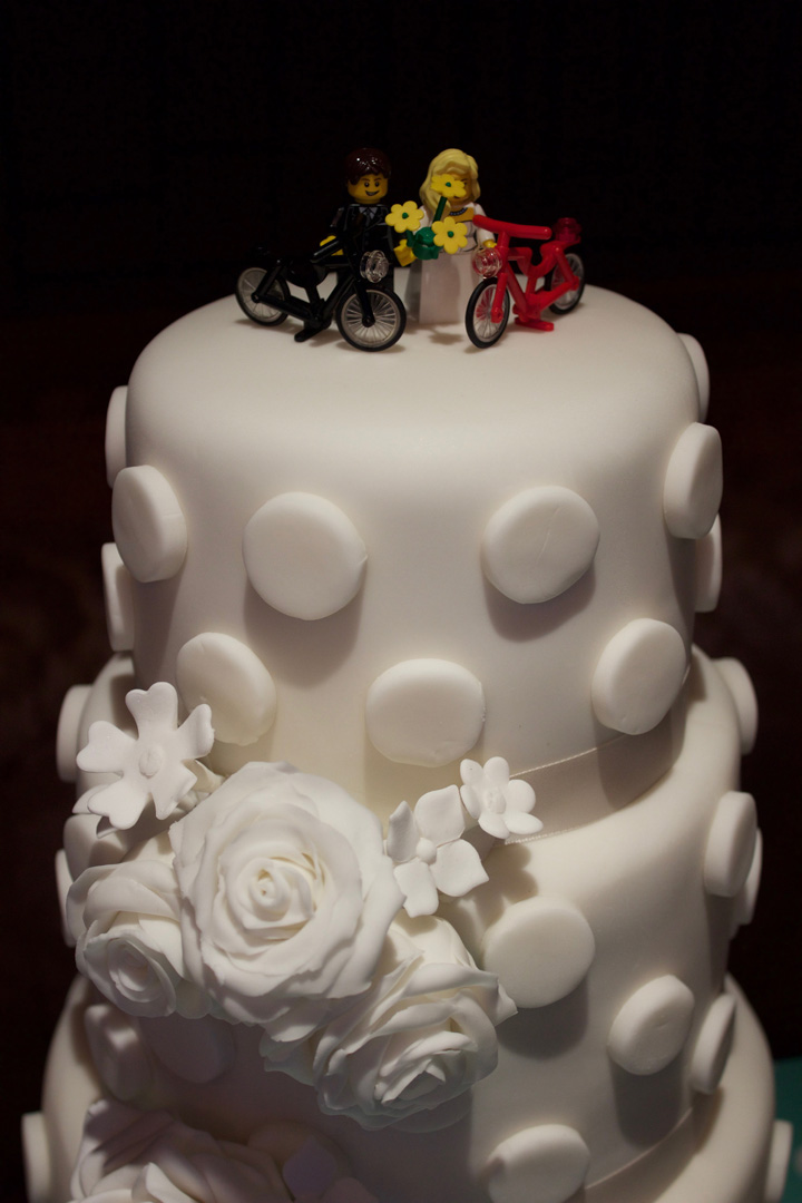 My wedding cake- why you shouldn't make your own wedding cake