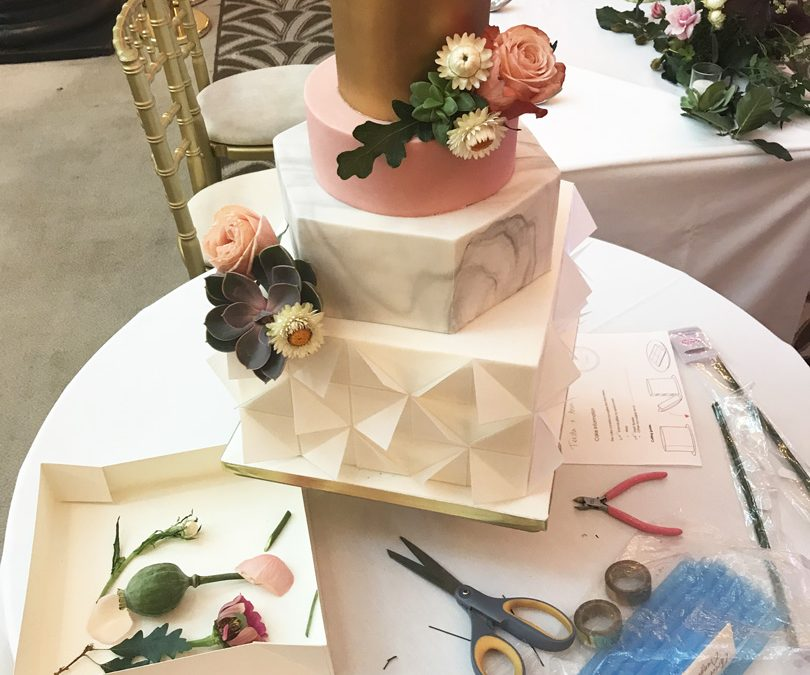 Unique Wedding Cakes.The Stages Of Making A Modern And Unique Wedding Cake