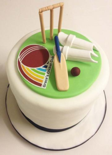 Cricket-cake